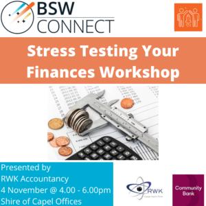 Stress Testing Finances